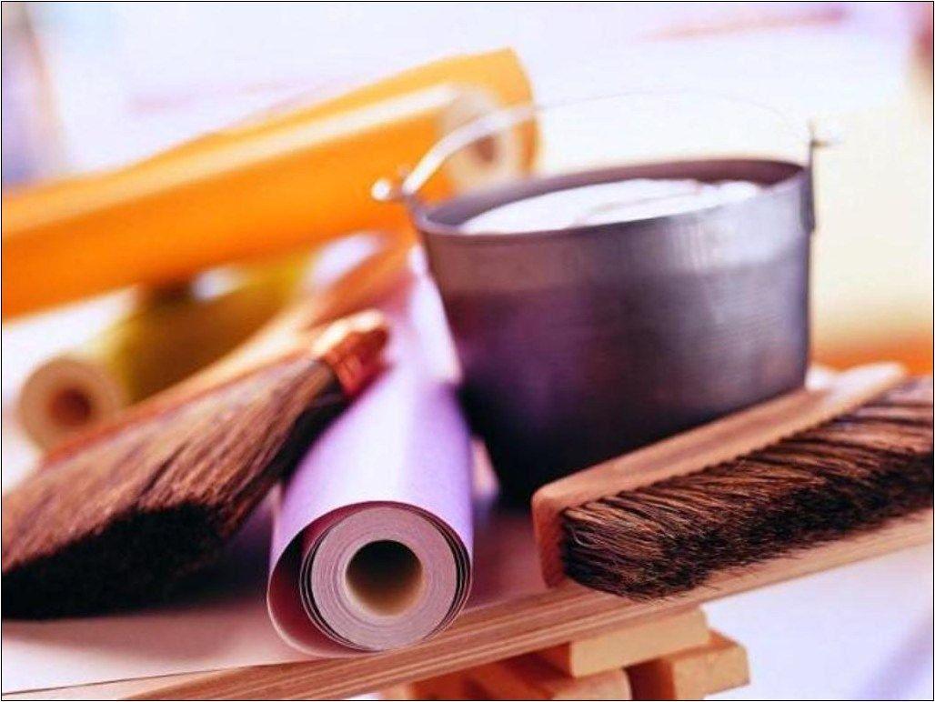 כלים שצריכים להדבקת טפט